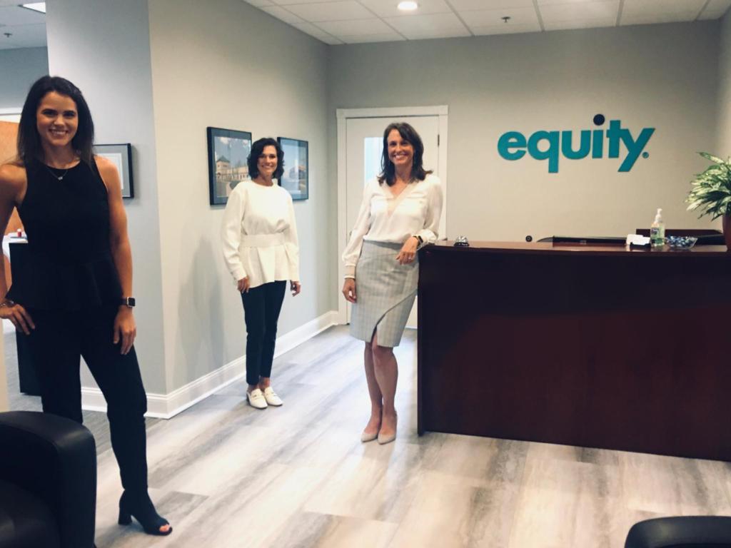 Commercial Realtors at Equity's office in Cincinnati, Ohio